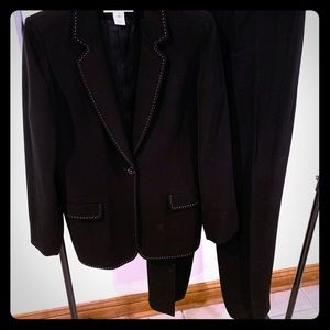 2 Piece Pants Suit